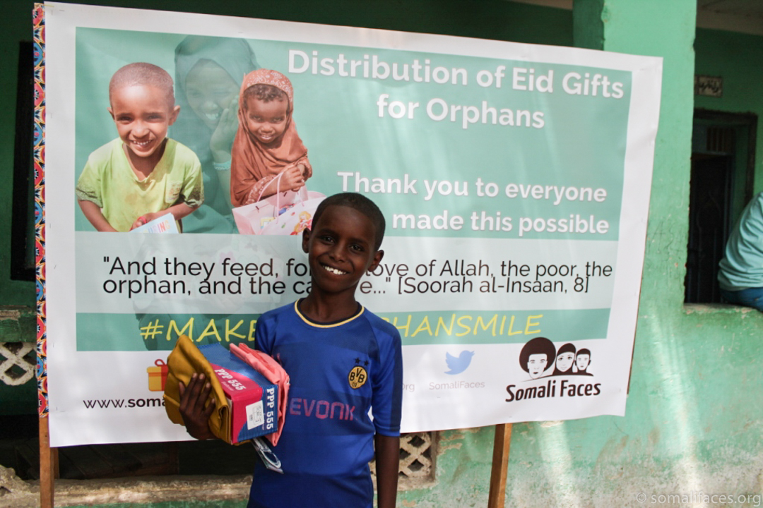 Make an Orphan Smile' Ramadan Drive - Somali Faces